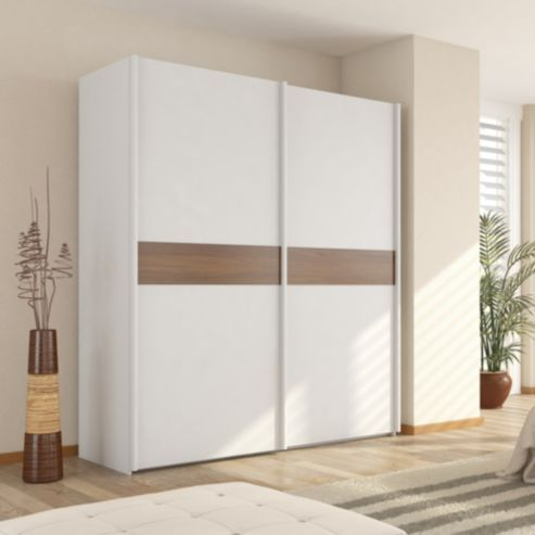 Artwork of White Sliding Closet Door Options