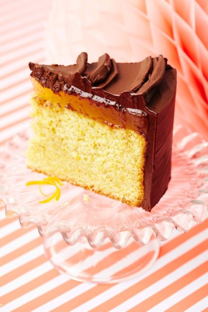 Chocolate orange is a classic Christmas flavour combination. We love a Terry's chocolate orange or a slice of this delicious jaffa cake from our new book.