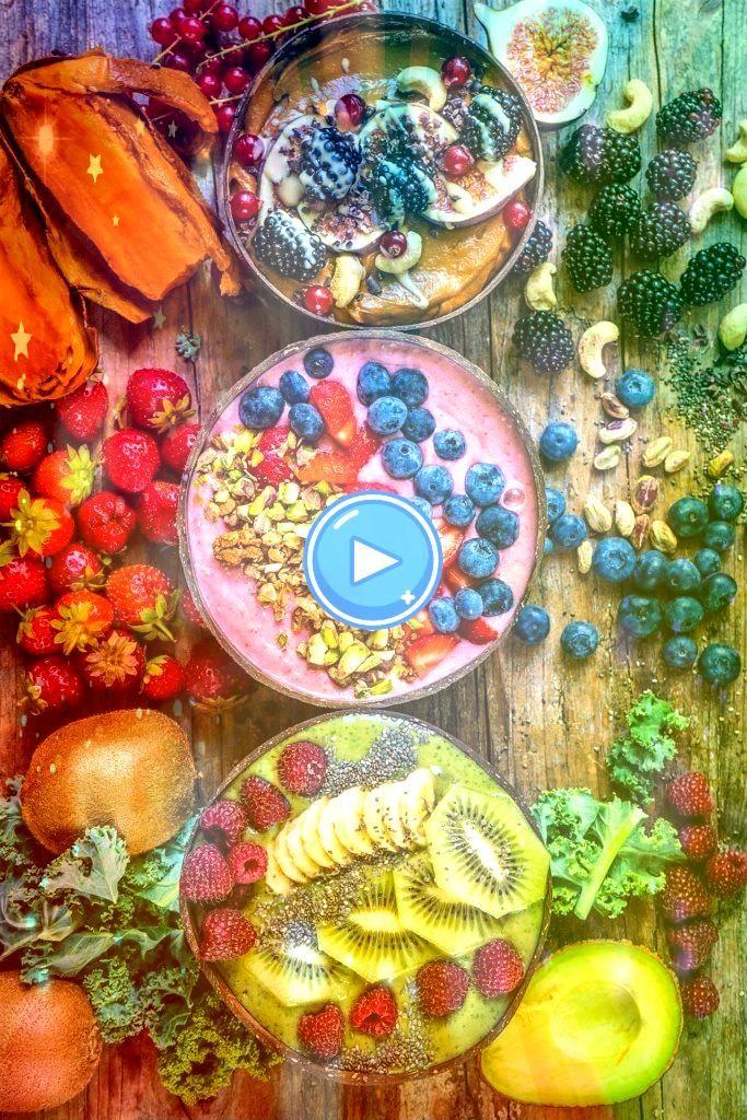 #smoothie #gesund #rezepte #schalen #nahrungsmittel # 3smoothie schalen –   – bowls