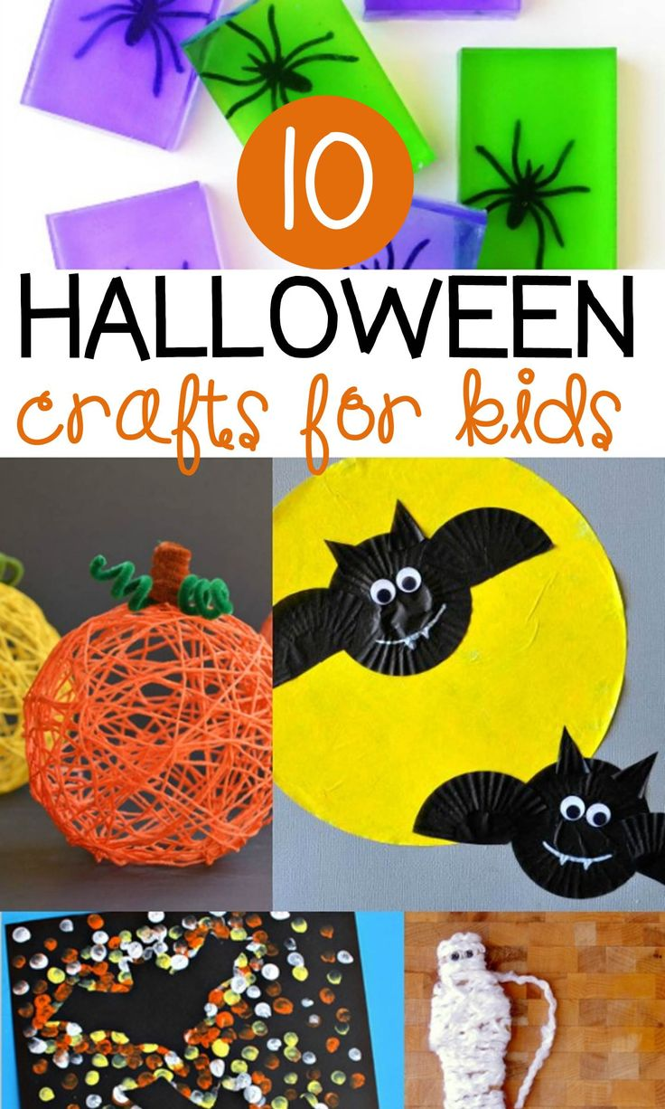 10 halloween crafts for kids - Halloween Crafts For The Classroom