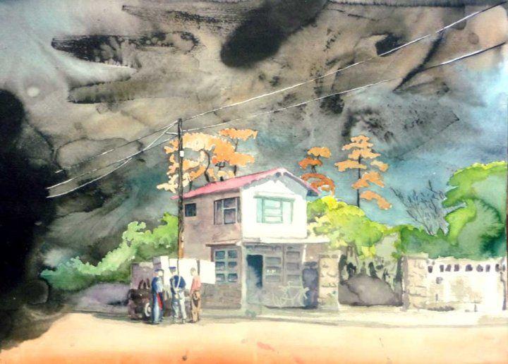 Peter Hallberg Painting