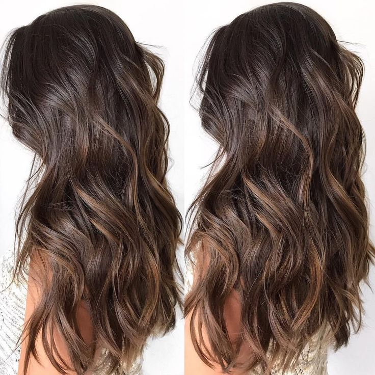 60 Chocolate Brown Hair Coloration Concepts for Brunettes Gentle Chocolate Ombre Highlights