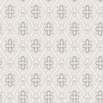Tapete LISSA grau - BORAS Wallpaper -