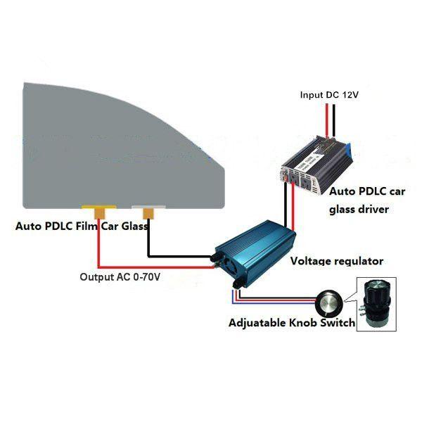 Black Electrochromic Smart Film For Car Window Tint Electric In 2019 Mirror Tv Cars