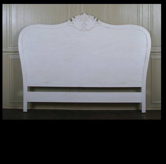 French Style Headboard Bedroom Furniture Bed Furniture