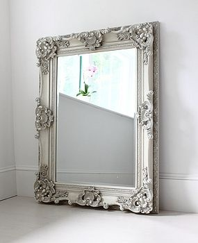Ornate frame mirror