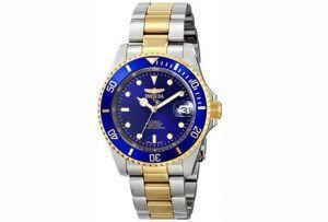 2. Invicta Men's 8928OB Pro Diver 23k Gold-Plated
