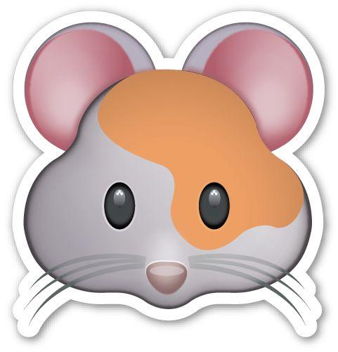 Hamster Face Stickers Emojis Hamster Dibujo Y Emoticonos