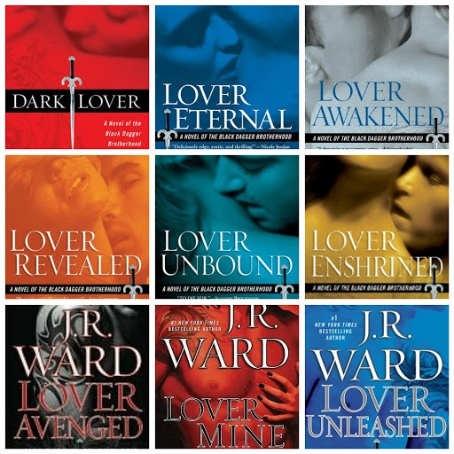 Black Dagger Brotherhood series...