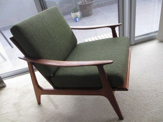 Parker Furniture. Nordic arm chair with original fabric.