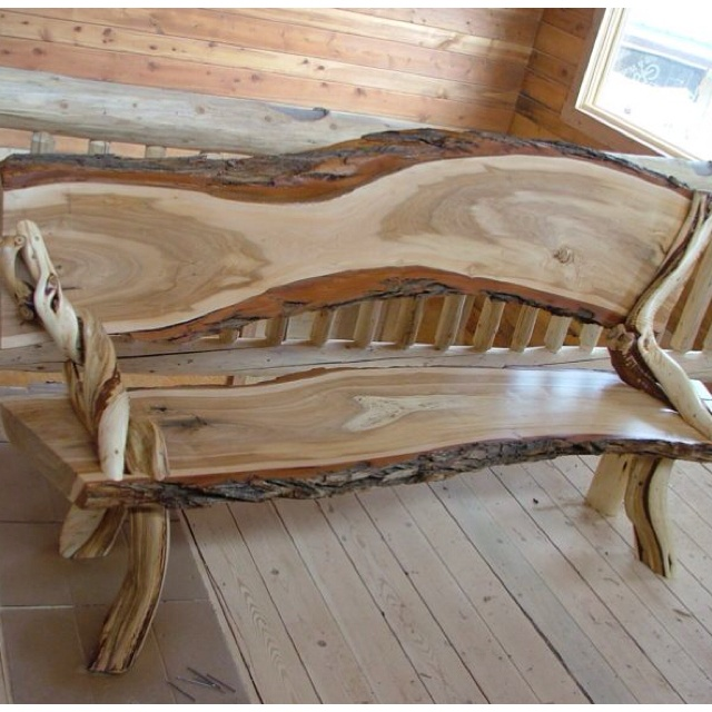 Natural Wood Furniture Ideas: 17 Best Images About Rustic Furniture On Pinterest