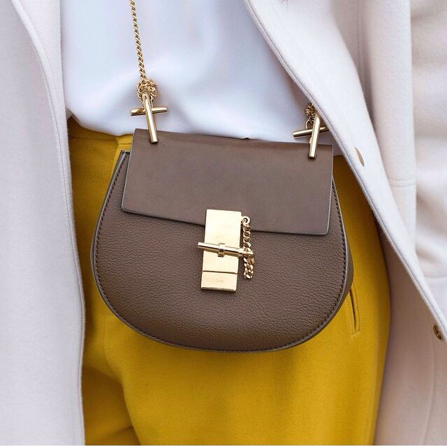chloe drew bag brown inspiration post