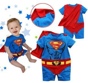 Aliexpress.com: Comprar 2016 nuevo bebé mono de la historieta Superman Goku Batman Spiderman Romper Smock Toddler Halloween Costume ropa recién nacido de bebé mameluco chica fiable proveedores en LOONGBOB STORE