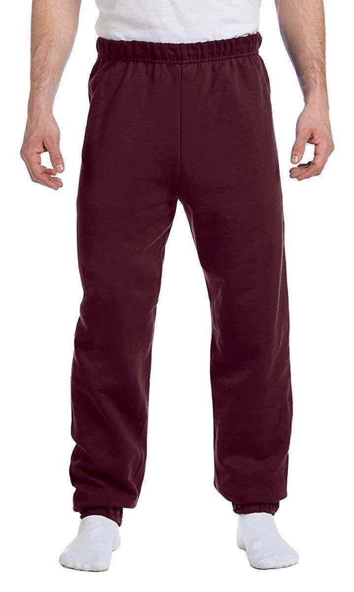 Jerzees Mens NuBlend Elastic Bottom Sweatpants