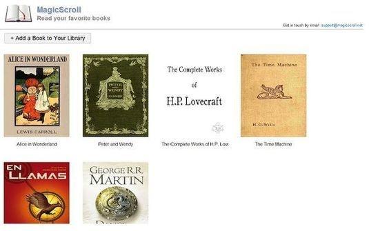 MagicScroll eBook Reader, lee libros electrónicos en formato ePub ... - Lukor