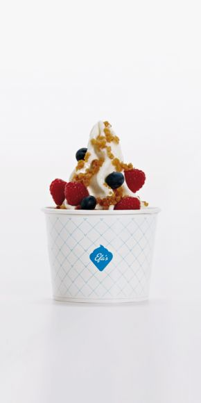 """Best rice pudding and frozen yogurt i've ever eaten at """"Efa's in Berlin"""""""