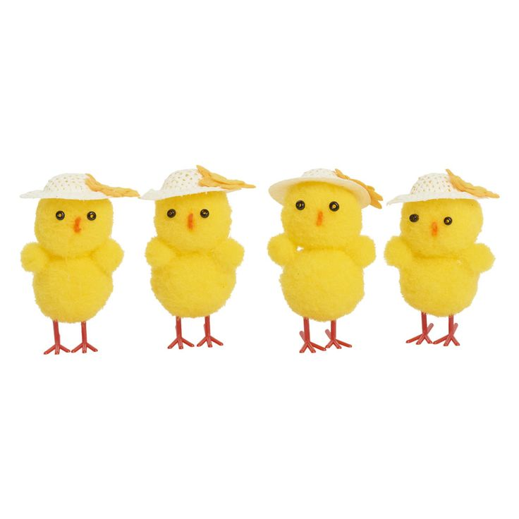 30 best wilko easter bonnet crafts images on pinterest wilko easter decorative chicks with hats 4pk negle Images