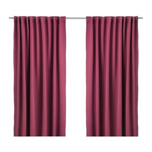 WERNA 2 Gardinenschals (verdunk.) IKEA Blickdichte Gardinen aus dicht gewebtem Stoff schirmen Lichteinfall effektiv ab und sorgen für Privatsphäre.