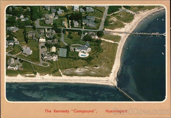 The Kennedy Compound Hyannis Port Massachusetts
