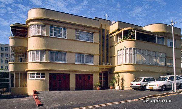 #ArtDeco | Minerva Apartments, Cape Town, South Africa