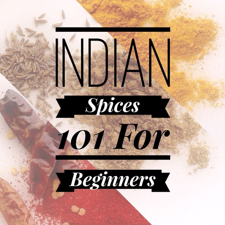 Indian Spices for Beginners! Only 5 spices that you need to take you to expert level! So easy! #indianfood #indiancooking #vegetarian #vegan #exotic #india