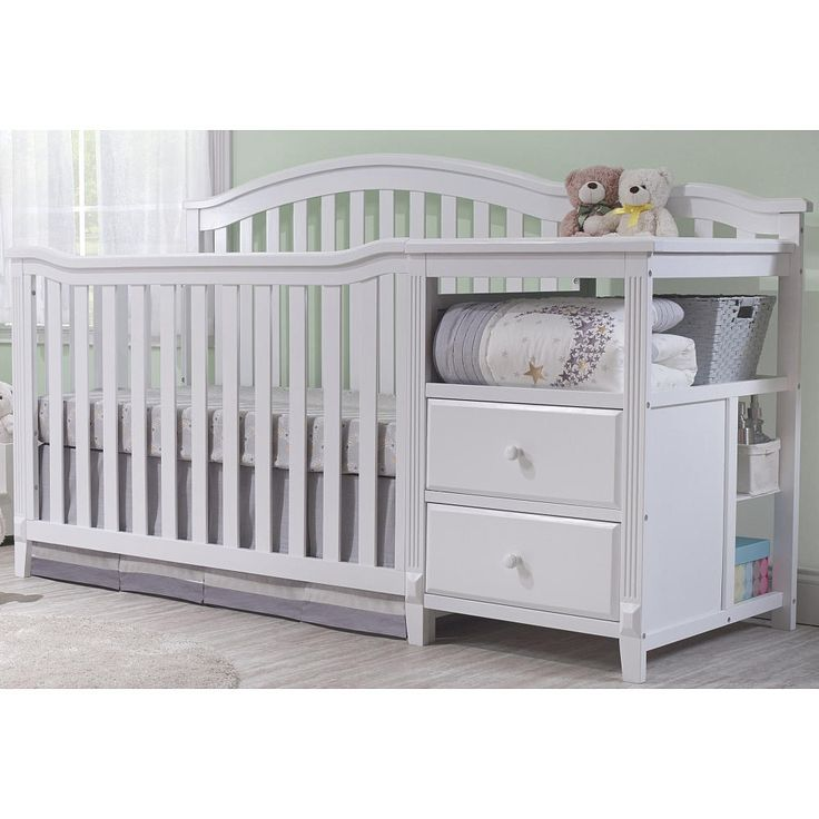 25 best ideas about crib with changing table on pinterest Baby crib with changing table