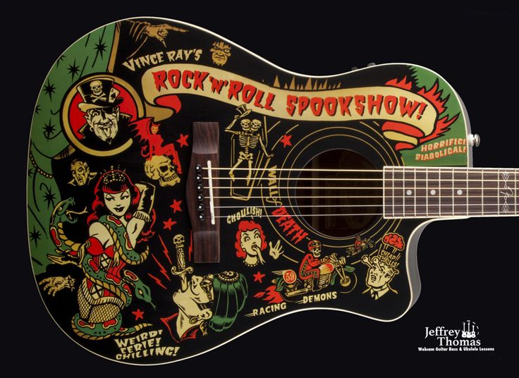 Cool #Guitar Art by #Vinceray