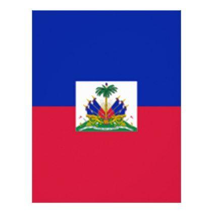 #Flag Of Haiti Letterhead - #travel #office #gifts