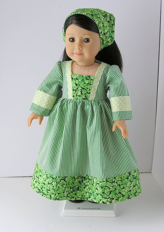 1970's St Patrick's Day Dress for Julie and Ivy by blinkersoh, $18.00