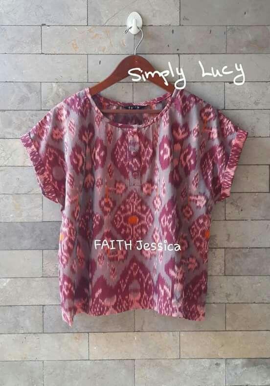 Tenun Jepara blouse