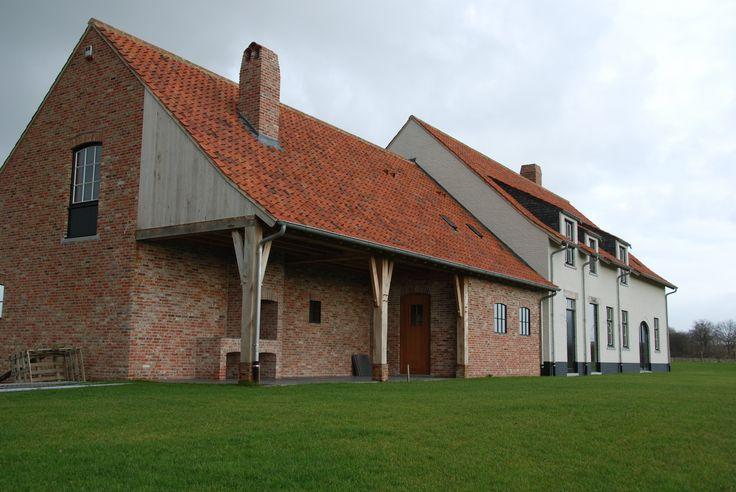 Verbouwing boerderij staden architectuur arne verduyn bvba for Architect landelijk