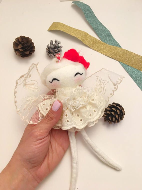 Fairy / doll / handmade  / ornament  / gift / Christmas gift