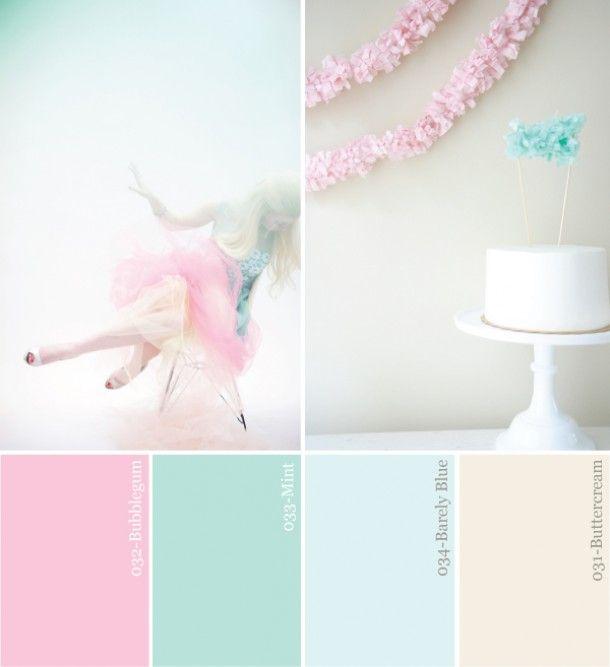 de kleuren voor op de babykamer Door Kirstiefristi