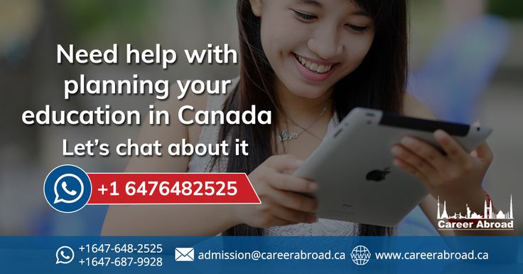 We connect with students via platforms which are convenient to them, you can send us a @whatspp message on +1 6476482525 and connect with our counsellors to plan your study better in #Canada.