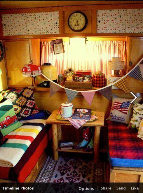 414 Best Camper Interior Decor Images On Pinterest