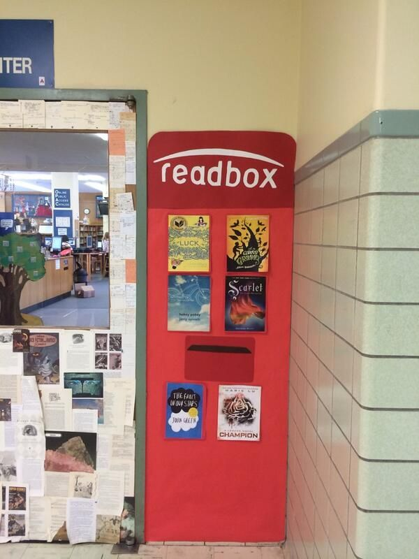 Augmented Reality readbox....scan the covers with Layar app