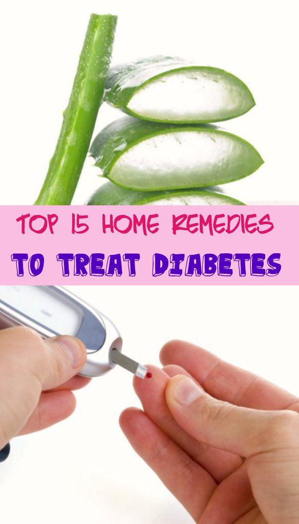 Top 15 Home Remedies to Treat #Diabetes #HomeRemedies for diabetes