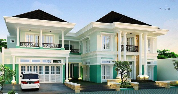 Warna Rumah Elegan Mewah