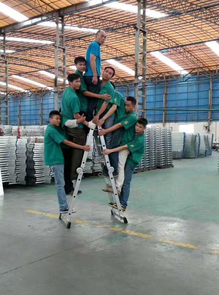Hoonly Aluminium Ladder, it has high bearing force. Family life is often used.