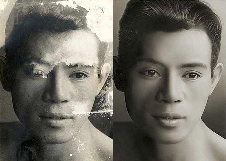 Photo Restoration Fix damage photo ( Tutorial)