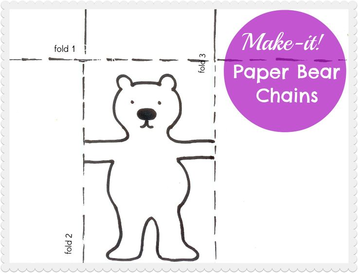 Best  Paper Doll Chain Ideas On   Snowflake Cut Out