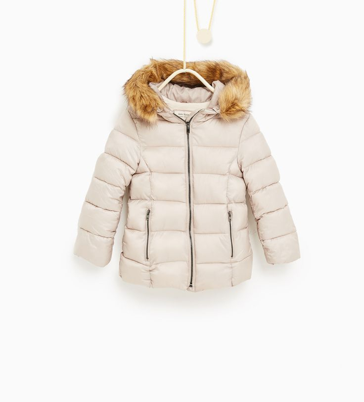 Quilted jacket with hood - Quilted-OUTERWEAR-GIRL | 4-14 years-KIDS | ZARA…