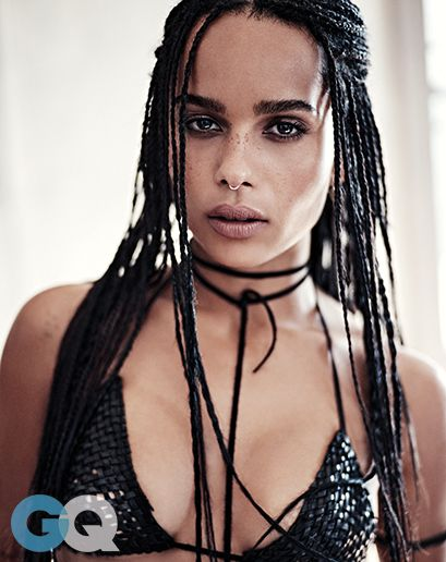 Zoë Kravitz by Steven Pan for GQ Magazine.