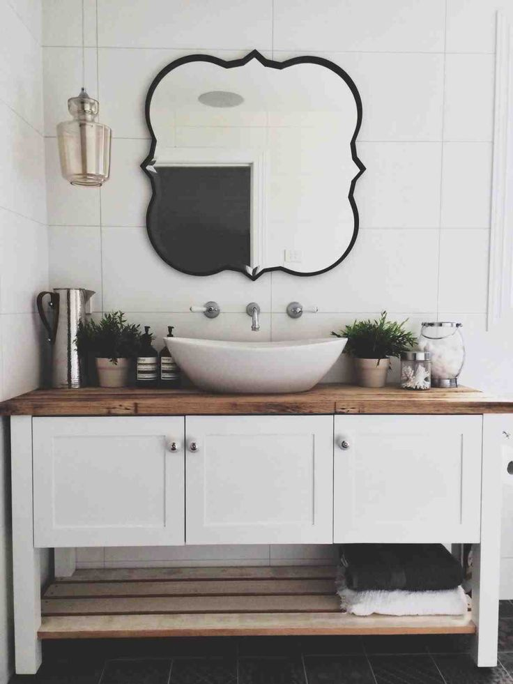 Best 25 modern country bathrooms ideas on pinterest country grey bathrooms country inspired for New style bathroom vanity