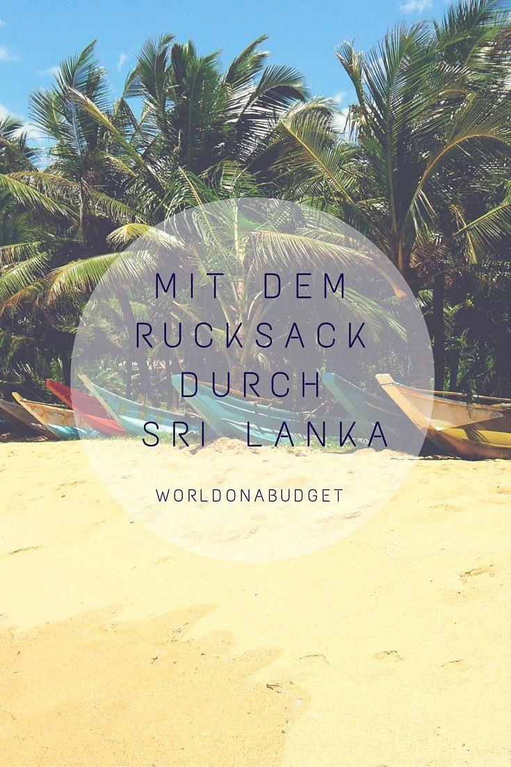 #SriLanka ist das erste #Reiseziel, das wir in #Asien gesehen haben. Unsere #Backpacking Reise führte uns von #Negombo und #Colombo über #Kandy mit dem #Zug durch das #Hochland in das #Surferdorf #ArugamBay. Noch mehr #Traumstrände sahen wir in #Mirissa und #Unawatuna. Etwas #Kultur kann man hingegen in #Galle erleben. Sri Lanka ist ein herzliches Land mit leckeren #Currys. Für uns das perfekte Einstiegsland für #Backpacker.
