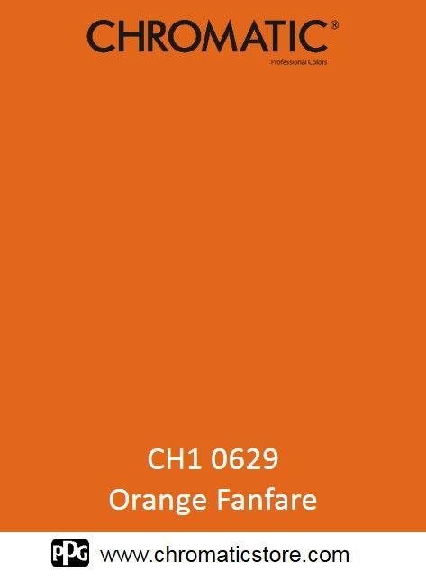 Finalisez votre projet peinture avec l' #Orange #Fanfare ch1 0629 en vous rendant dans l'un de nos points de vente partenaires. Trouvez votre distributeur sur www.chromaticstore.com