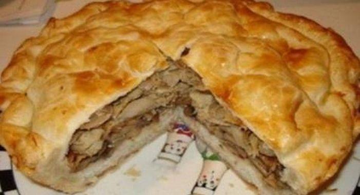 Теперь мясные пироги готовлю только так. От этого сытного пирога мой муж в восторге