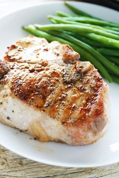 Juicy thick cut pork chops are simple to prepare and the result can rival any traditional steak. Making a perfect thick cut pork chop is easy!