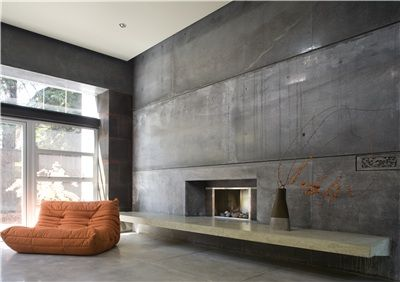 modern concrete interior floors and walls cheng design