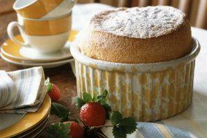 Light and Airy Vanilla Souffle